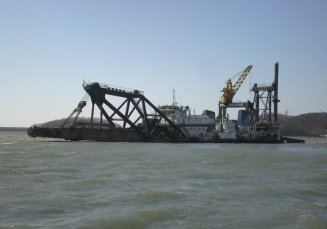 12,000 HP Cutter suction dredger pump dredger