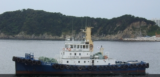 3,200 PS Harbour tug boat for sale