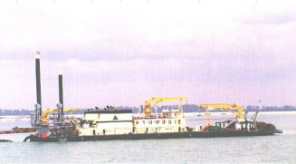 4,500 CBM CUTTER SUCTION DREDGER FOR SALE