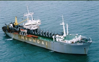 5,200 CBM TRAILING SUCTION HOPPER DREDGER FOR SALE
