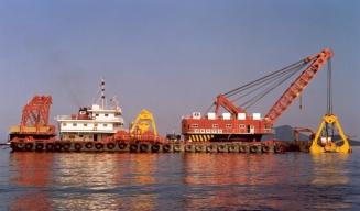 25 cbm grab dredger for sale