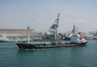 6,575 dwt oil/chemical tanker for sale